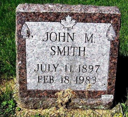 SMITH, JOHN M - Calhoun County, Michigan | JOHN M SMITH - Michigan Gravestone Photos