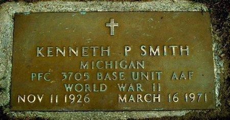 SMITH, KENNETH P. - Calhoun County, Michigan | KENNETH P. SMITH - Michigan Gravestone Photos