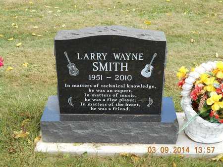 SMITH, LARRY WAYNE - Calhoun County, Michigan | LARRY WAYNE SMITH - Michigan Gravestone Photos