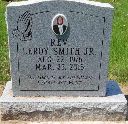 SMITH, LEROY JR. - Calhoun County, Michigan | LEROY JR. SMITH - Michigan Gravestone Photos