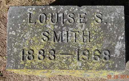 SMITH, LOUISE S - Calhoun County, Michigan | LOUISE S SMITH - Michigan Gravestone Photos