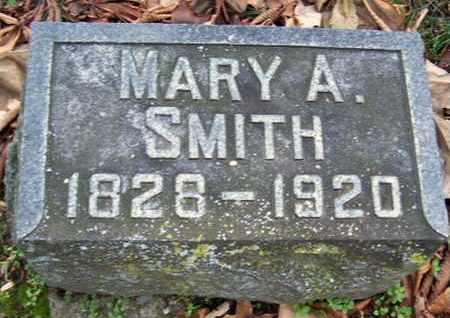 SMITH, MARY ANN - Calhoun County, Michigan   MARY ANN SMITH - Michigan Gravestone Photos