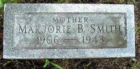 SMITH, MARJORIE B - Calhoun County, Michigan | MARJORIE B SMITH - Michigan Gravestone Photos