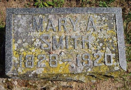 SMITH, MARY A - Calhoun County, Michigan | MARY A SMITH - Michigan Gravestone Photos