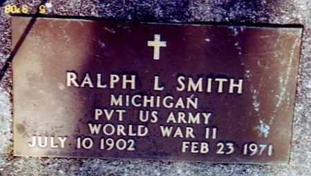 SMITH, RALPH L. - Calhoun County, Michigan | RALPH L. SMITH - Michigan Gravestone Photos