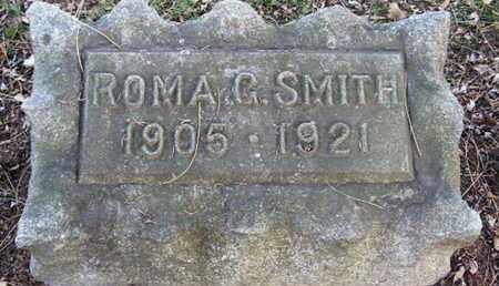 SMITH, ROMA G - Calhoun County, Michigan | ROMA G SMITH - Michigan Gravestone Photos