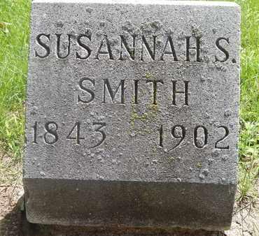 SMITH, SUSANNAH S - Calhoun County, Michigan | SUSANNAH S SMITH - Michigan Gravestone Photos