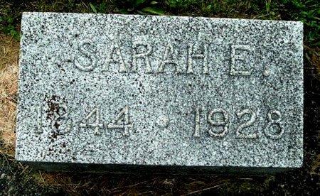 SMITH, SARAH E - Calhoun County, Michigan | SARAH E SMITH - Michigan Gravestone Photos