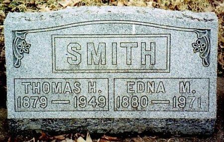 SMITH, EDNA M. - Calhoun County, Michigan | EDNA M. SMITH - Michigan Gravestone Photos