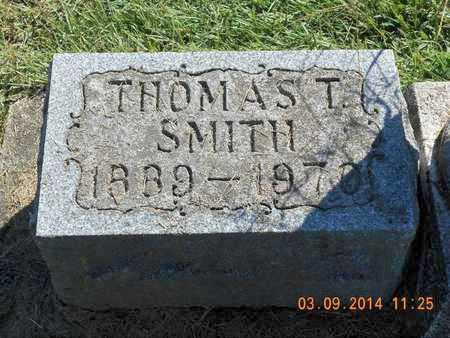 SMITH, THOMAS T. - Calhoun County, Michigan | THOMAS T. SMITH - Michigan Gravestone Photos