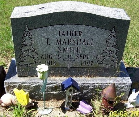 SMITH, T. MARSHALL - Calhoun County, Michigan | T. MARSHALL SMITH - Michigan Gravestone Photos