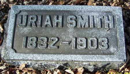 SMITH, URIAH - Calhoun County, Michigan | URIAH SMITH - Michigan Gravestone Photos