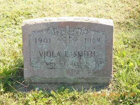 SMITH, VIOLA E. - Calhoun County, Michigan | VIOLA E. SMITH - Michigan Gravestone Photos