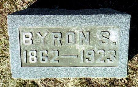 SNYDER, BYRON S. - Calhoun County, Michigan | BYRON S. SNYDER - Michigan Gravestone Photos