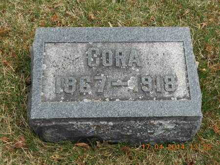 SNYDER, CORA - Calhoun County, Michigan | CORA SNYDER - Michigan Gravestone Photos