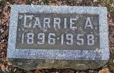 SNYDER, CARRIE A - Calhoun County, Michigan | CARRIE A SNYDER - Michigan Gravestone Photos