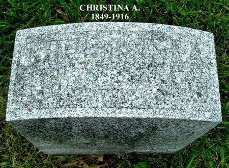 SNYDER, CHRISTINA A - Calhoun County, Michigan   CHRISTINA A SNYDER - Michigan Gravestone Photos