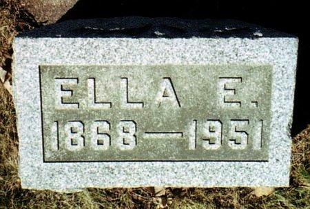 SNYDER, ELLA E. - Calhoun County, Michigan | ELLA E. SNYDER - Michigan Gravestone Photos