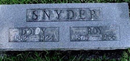 """SNYDER, EDNA CAROLINE """"DOLLY"""" - Calhoun County, Michigan   EDNA CAROLINE """"DOLLY"""" SNYDER - Michigan Gravestone Photos"""