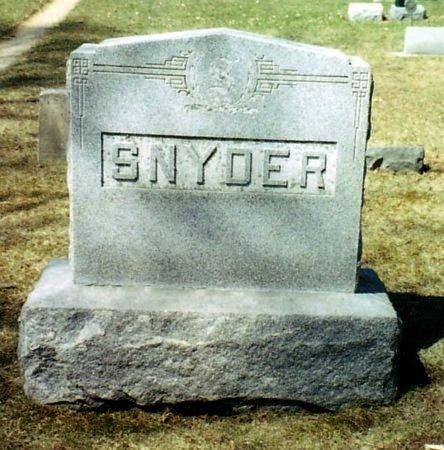 SNYDER, FAMILY MARKER - Calhoun County, Michigan | FAMILY MARKER SNYDER - Michigan Gravestone Photos