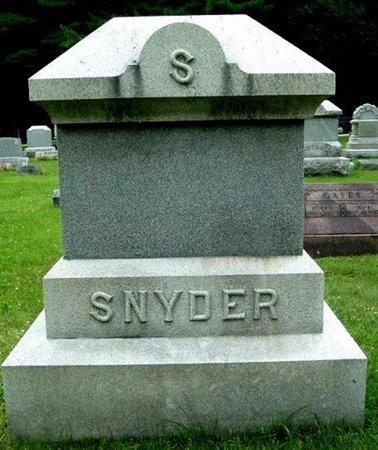 SNYDER, FAMILY MARKER - Calhoun County, Michigan   FAMILY MARKER SNYDER - Michigan Gravestone Photos