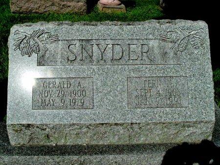SNYDER, GERALD A. - Calhoun County, Michigan | GERALD A. SNYDER - Michigan Gravestone Photos