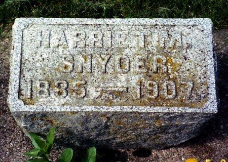 SNYDER, HARRIET M. - Calhoun County, Michigan | HARRIET M. SNYDER - Michigan Gravestone Photos