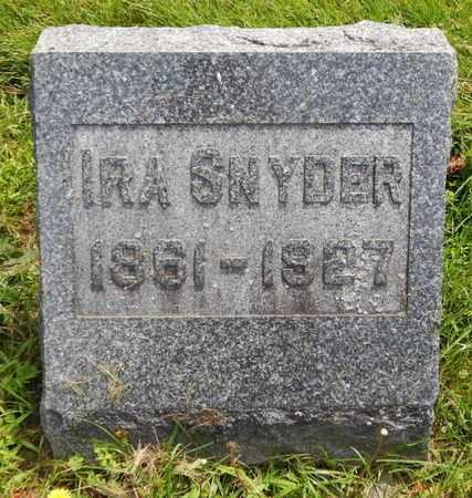 SNYDER, IRA - Calhoun County, Michigan   IRA SNYDER - Michigan Gravestone Photos