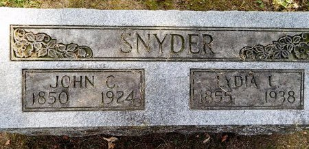SNYDER, LYDIA E - Calhoun County, Michigan | LYDIA E SNYDER - Michigan Gravestone Photos
