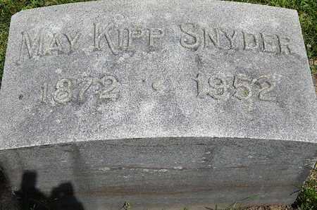 SNYDER, MAY - Calhoun County, Michigan | MAY SNYDER - Michigan Gravestone Photos