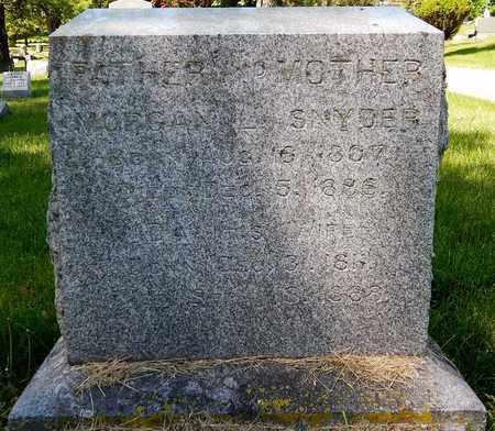 SNYDER, IDA - Calhoun County, Michigan | IDA SNYDER - Michigan Gravestone Photos