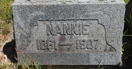 SNYDER, NANNIE - Calhoun County, Michigan | NANNIE SNYDER - Michigan Gravestone Photos