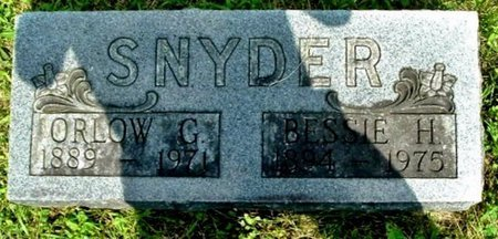 SNYDER, BESSIE - Calhoun County, Michigan | BESSIE SNYDER - Michigan Gravestone Photos