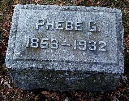 SNYDER, PHEBE G - Calhoun County, Michigan   PHEBE G SNYDER - Michigan Gravestone Photos