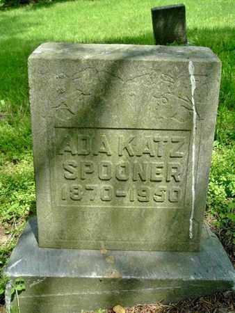SPOONER, ADA - Calhoun County, Michigan | ADA SPOONER - Michigan Gravestone Photos
