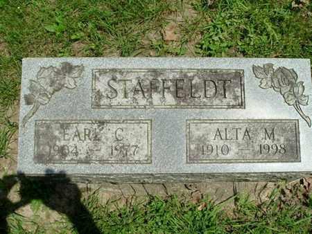 STAFFELDT, EARL - Calhoun County, Michigan | EARL STAFFELDT - Michigan Gravestone Photos