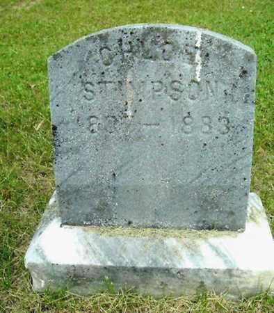STIMPSON, CHLOE - Calhoun County, Michigan   CHLOE STIMPSON - Michigan Gravestone Photos