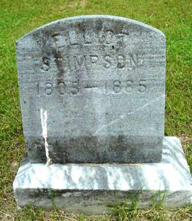 STIMPSON, ELLIT - Calhoun County, Michigan | ELLIT STIMPSON - Michigan Gravestone Photos
