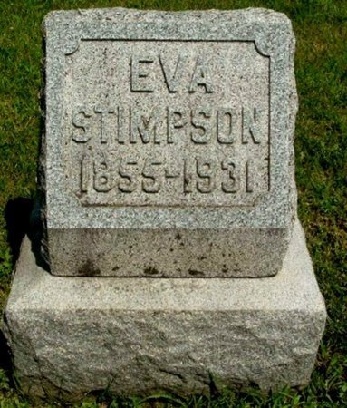 STIMPSON, EVA - Calhoun County, Michigan | EVA STIMPSON - Michigan Gravestone Photos
