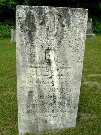 STIMPSON, LUCY - Calhoun County, Michigan | LUCY STIMPSON - Michigan Gravestone Photos