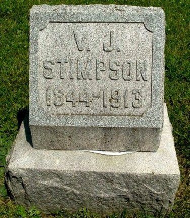 STIMPSON, VALORUS J - Calhoun County, Michigan | VALORUS J STIMPSON - Michigan Gravestone Photos
