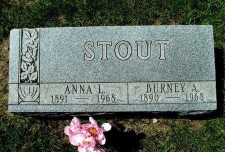 STOUT, BURNEY A. - Calhoun County, Michigan | BURNEY A. STOUT - Michigan Gravestone Photos