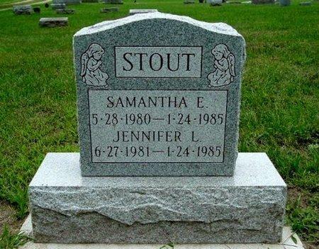 STOUT, SAMANTHA E. - Calhoun County, Michigan | SAMANTHA E. STOUT - Michigan Gravestone Photos