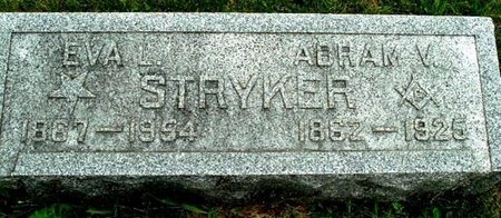 STRYKER, EVA L - Calhoun County, Michigan | EVA L STRYKER - Michigan Gravestone Photos
