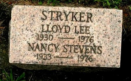 STRYKER, LLOYD L - Calhoun County, Michigan | LLOYD L STRYKER - Michigan Gravestone Photos