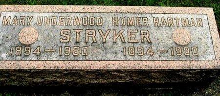 STRYKER, MARY - Calhoun County, Michigan   MARY STRYKER - Michigan Gravestone Photos
