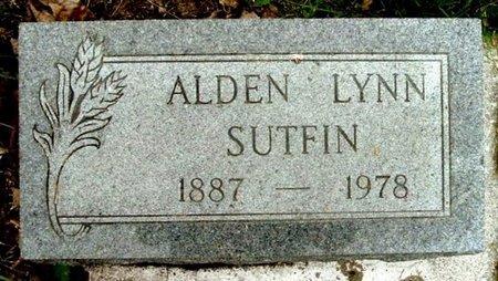 SUTFIN, ALDEN L - Calhoun County, Michigan | ALDEN L SUTFIN - Michigan Gravestone Photos