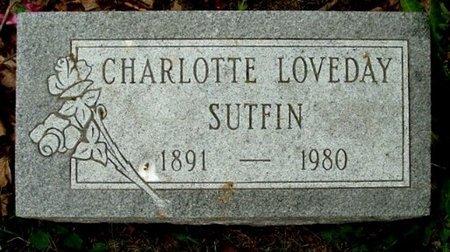 SUTFIN, CHARLOTTE - Calhoun County, Michigan | CHARLOTTE SUTFIN - Michigan Gravestone Photos