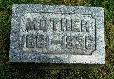 "SWARTZ, ""MOTHER"" - Calhoun County, Michigan   ""MOTHER"" SWARTZ - Michigan Gravestone Photos"