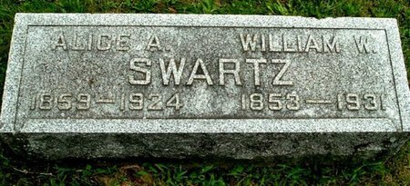 SWARTZ, WILLIAM W - Calhoun County, Michigan   WILLIAM W SWARTZ - Michigan Gravestone Photos